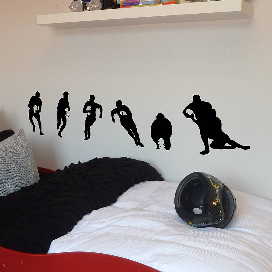 rugby gifts shop and rugby gifts store supplying unique rugby wall decal wall sticker home wall decal office